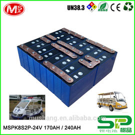 China High-efficiency rechargeable 24v100ah Lithium ion battery with PCM For Electric Sightseeing car usine