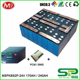 China 24V LiFePO4 Battery PACK Energy Storage System Top Quality Long Cycle Life Battery Cell distributeur